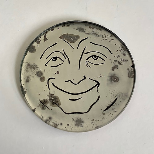 'Man in the Moon'Coaster by Kill Medusa Mirrors