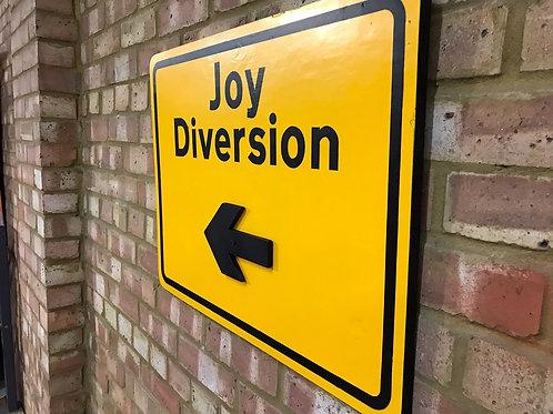 'Joy Diversion' Wall Art by Subvertiser
