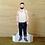 Thumbnail: British Men – Tattoo Man Paper Doll by Mr Craven: Raconteur