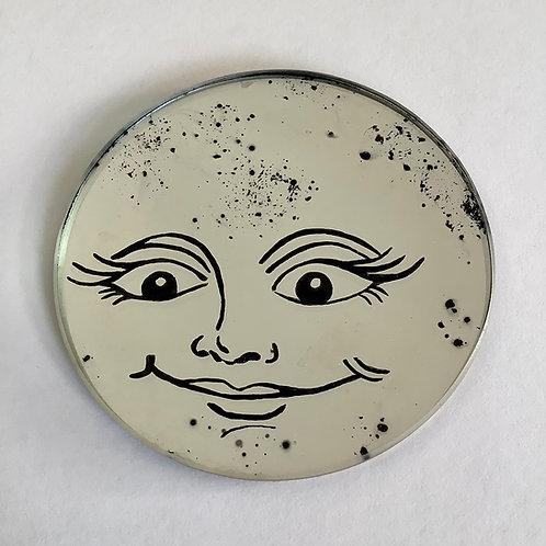 'Luna Moon'Coaster by Kill Medusa Mirrors