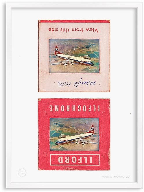 'Flight 1' Screen Print by Pat Edgeley