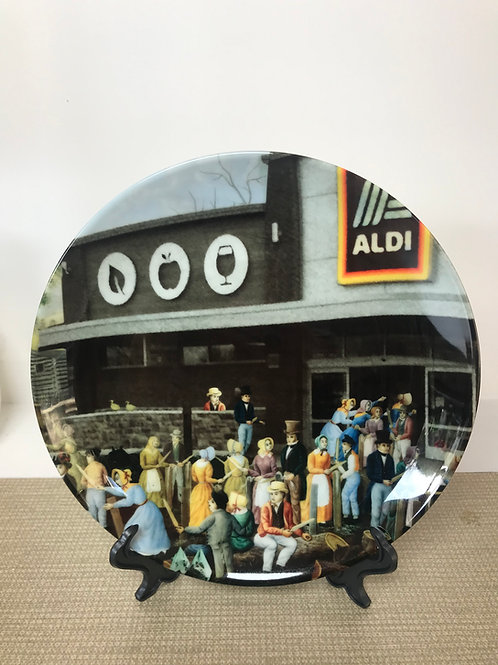 'The Battle of Aldi' Plate by Haus Of Lucy