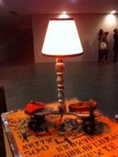Industrial Vintage Roller-Skate Table Lamp