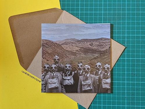'School Trip 1942' Greeting Card by LocalHotelParking