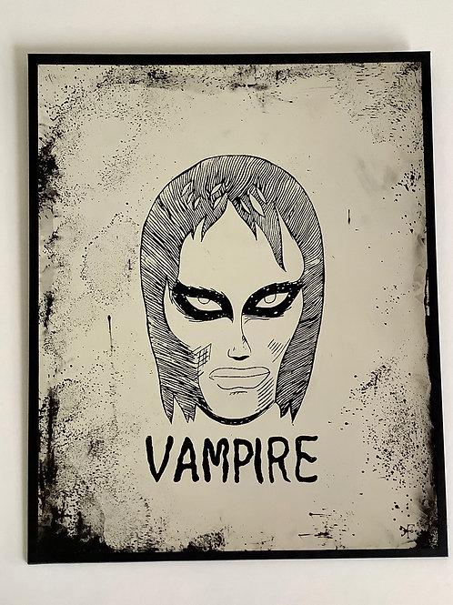 'Vampire' Mirror by Kill Medusa Mirrors