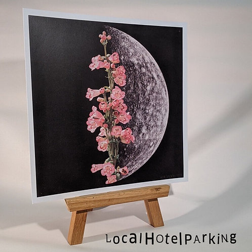 'Half Bloom' Print by LocalHotelParking