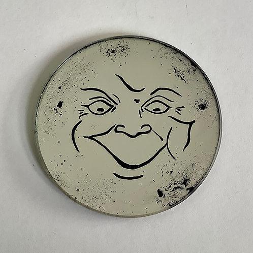 'Lunatic Moon' Coaster by Kill Medusa Mirrors