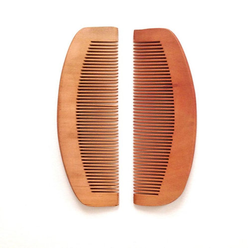 Wooden Comb by Hal of Hove