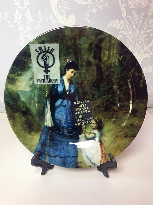 'The Womens' March' Plate by Haus Of Lucy
