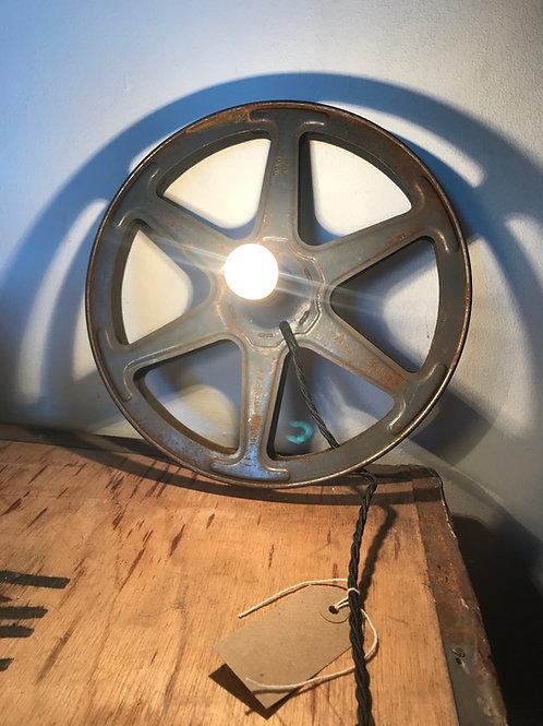 Vintage Film Reel Lighting