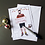 Thumbnail: Christmas Tattoo Man Card by Mr Craven: Raconteur