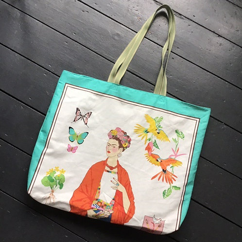 Handmade Cotton Frida Bag Large by Desertland Wares