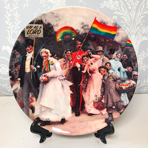 'Village People' Plate by Haus Of Lucy