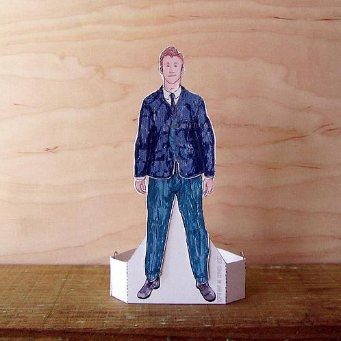 British Men - Winter Man Paper Doll by Mr Craven: Raconteur