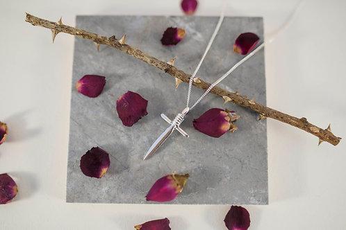 Sterling Silver Dagger Pendant by Alice Ashton