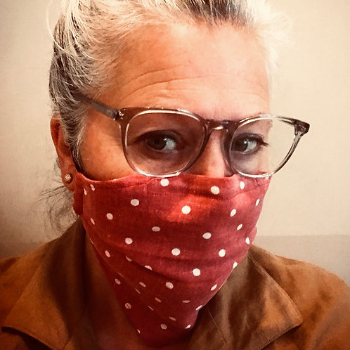 Bandana Reusable Cotton Facemasks in World Prints by Lilo @ Little Town Lola
