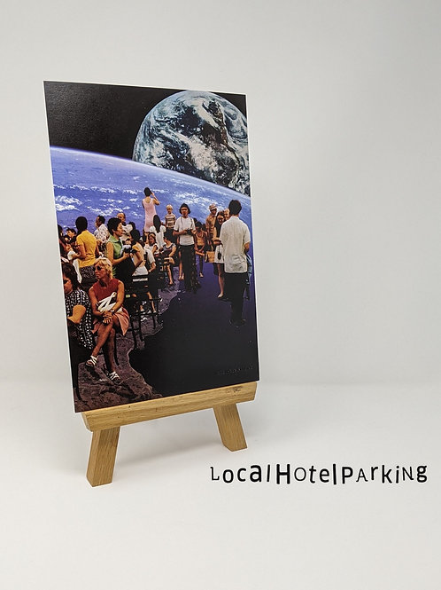 'Space Tourist' Print by LocalHotelParking