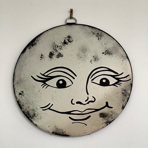 'Luna Moon' Mirror by Kill Medusa Mirrors