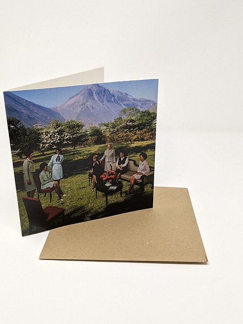 'The Announcement' Greeting Card by LocalHotelParking