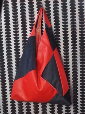 Recycled Origami Tote Bag by RELAB