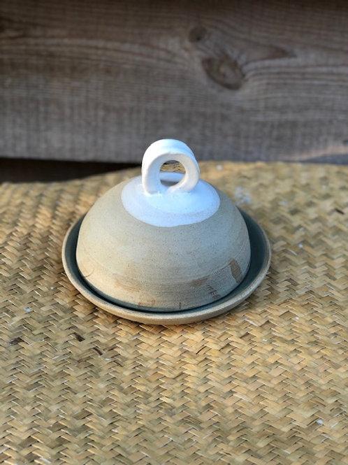 Stoneware Butterdish by Windmill Pottery