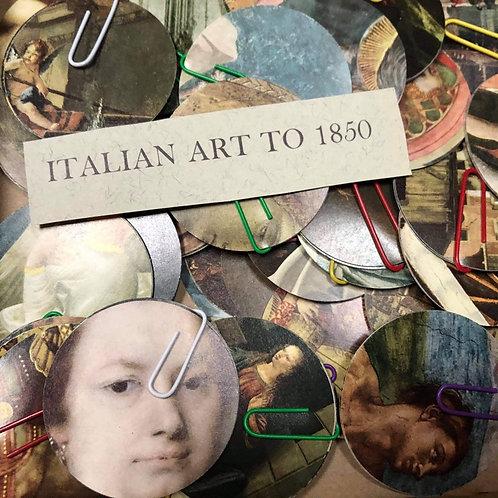 Italian Art Bauble Garland Craft Pack by Bella Does Brighton
