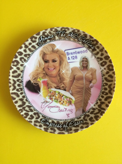 'Gemma Collins' Plate by Haus Of Lucy