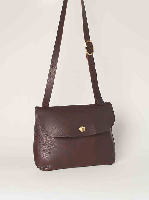 Large Brown Jenny Bag by Wolfram Lohr