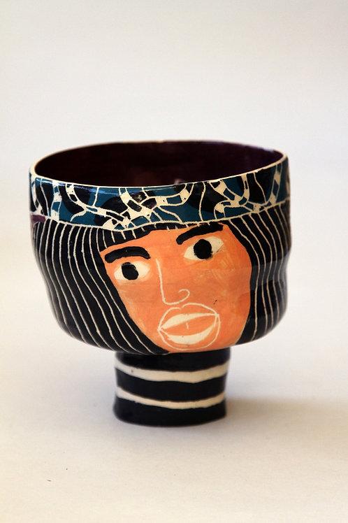 'Greta' Ceramic Pot by LAZARINE