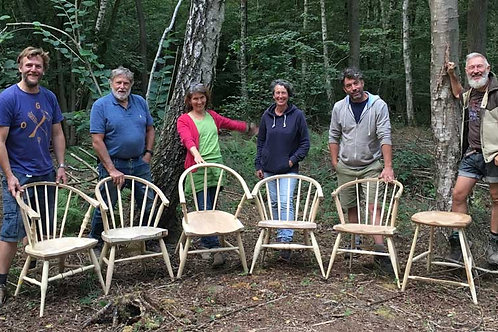 6 Day Chairmaking Course (Deposit) by Hopesprings Chairs