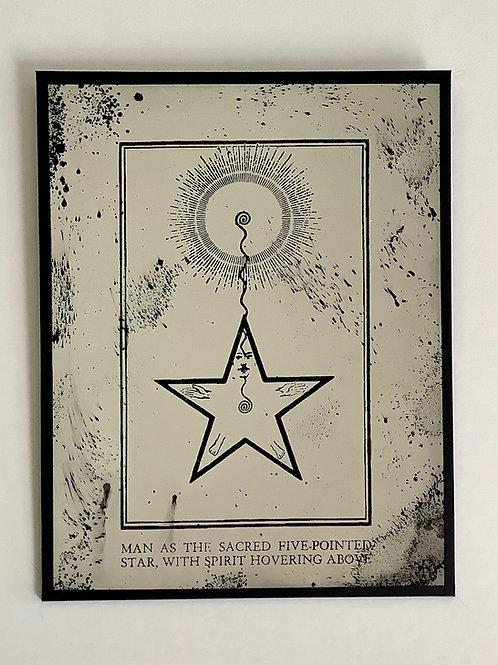 'Starman' Mirror by Kill Medusa Mirrors