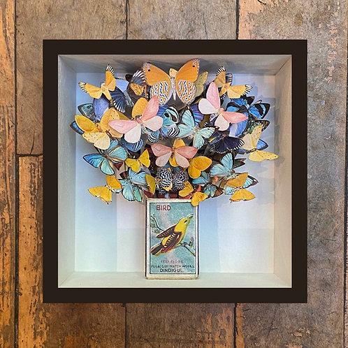 'Bird' Paper Sculpture Taxidermy by Nikki Ward