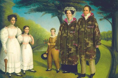 Portrait of a Family A3 Print