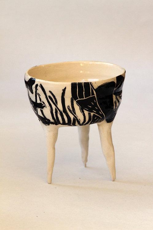 'Posidonie' Ceramic Pot by LAZARINE