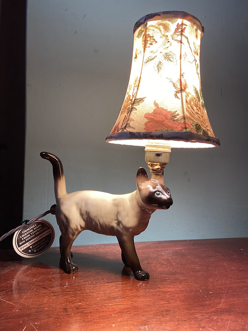 Cat Lamp by Lost & Foundry