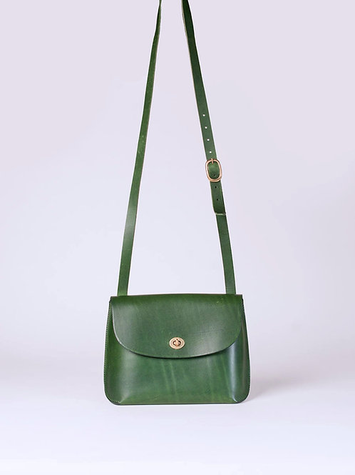 Small Green Jenny Bag by Wolfram Lohr
