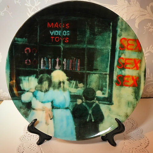 'The Old Curiosity Shop' Plate by Haus Of Lucy