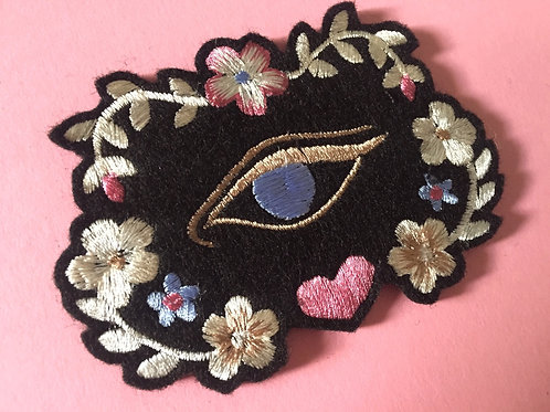 Floral Eye Patch by Dead Lavender