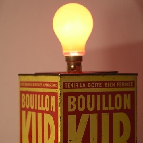 Vintage Tin Table Lamps
