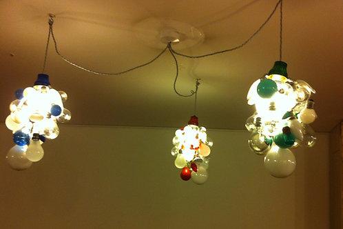 """Blown"" Ceiling Lamps"
