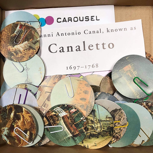 Canaletto Bauble Garland Craft Pack by Bella Does Brighton