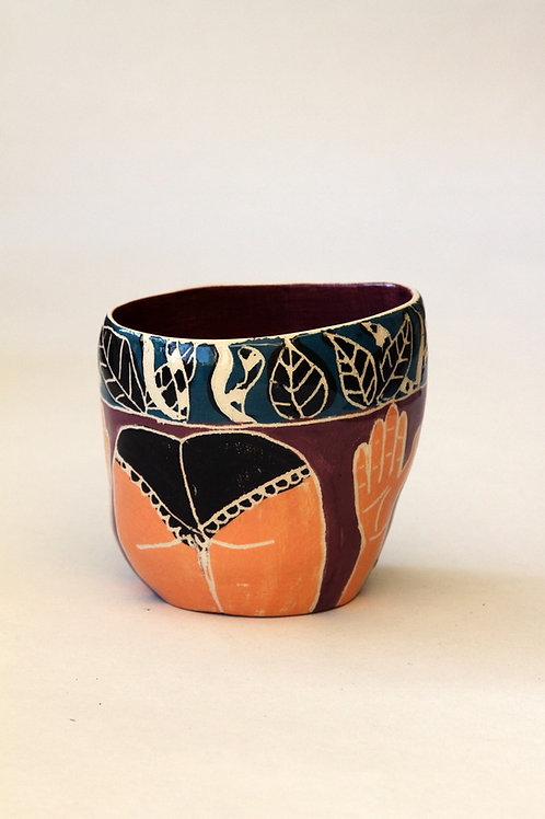'Gisele' Ceramic Pot by LAZARINE