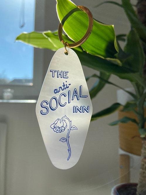 'THE ANTI-SOCIAL INN' MOTEL KEY TAG II by HEIHŌ