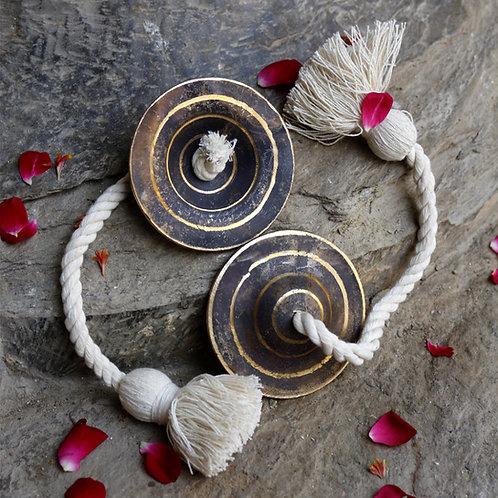 Harmonious Traditions Handmade Kansa Manjeera
