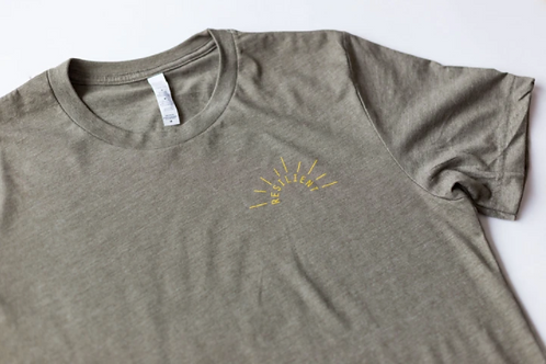 Warrior Label Resilient Sun - Unisex T