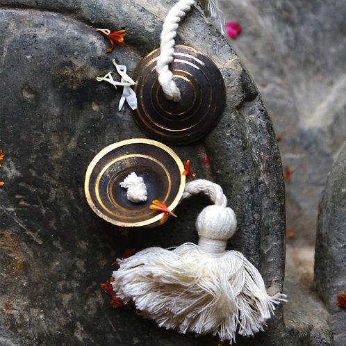 Harmonious Traditions Handmade Kansa Manjeera Mini