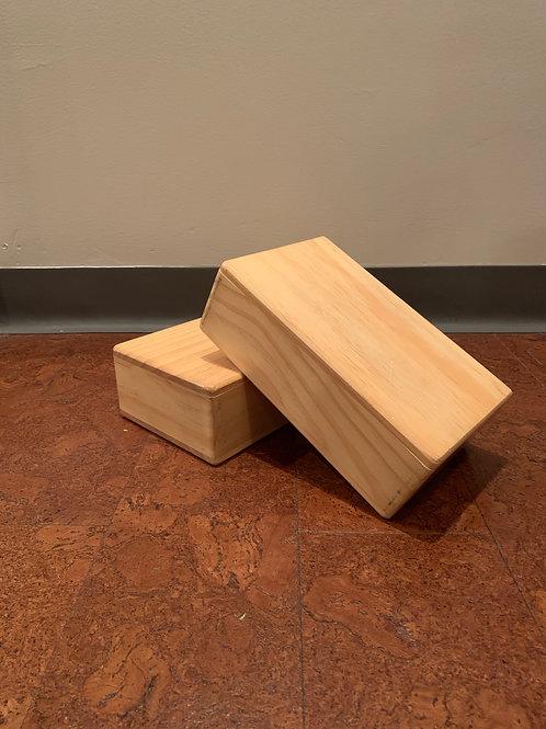 USED Wood Yoga Block (Single)