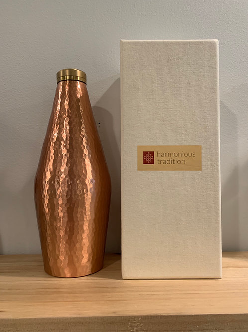 Harmonious Traditions Handmade Copper Water Bottle