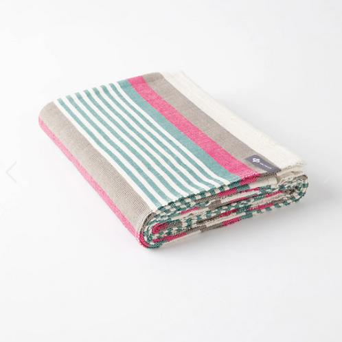 Halfmoon Cotton Yoga Blanket