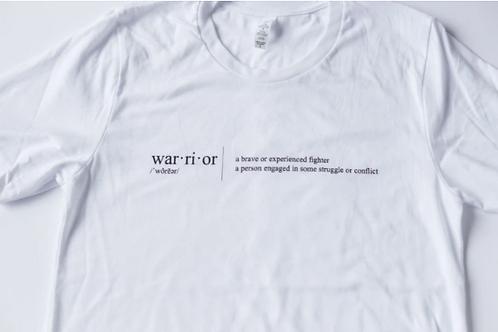 Warrior Label Warrior Definition - Unisex T